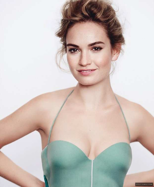 Lily James Hottest photo 9