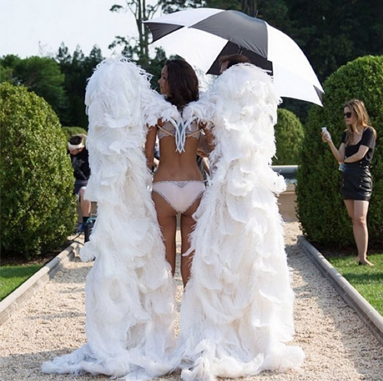 Kendall Jenner Angels Photos photo 14