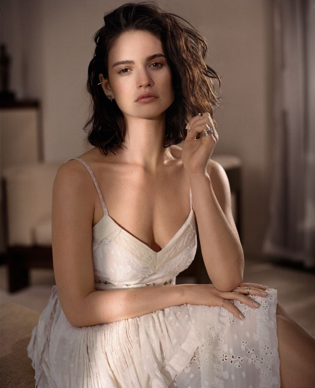 Lily James Hottest photo 29